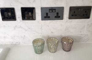 MiHome plug sockets in bathroom
