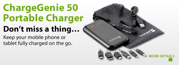ChargeGenie 50 Portable Charger