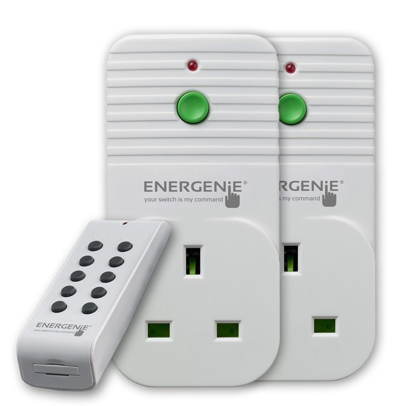 2 pack of Remote Controlled Sockets