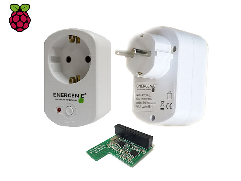 European Remote Controlled Sockets with Pi-mote