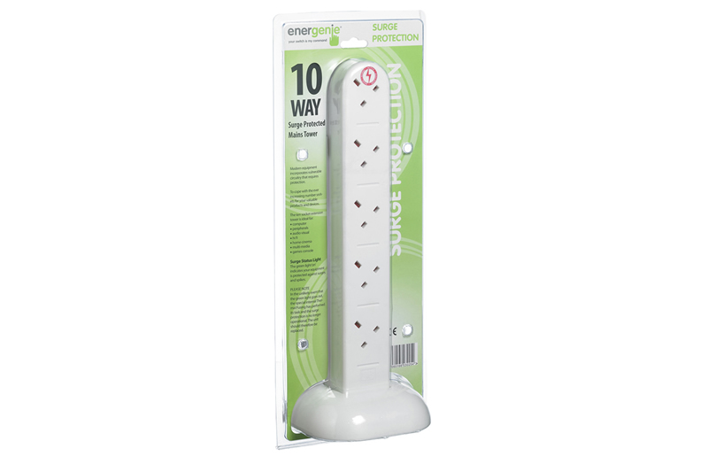 10 Gang Extension Socket with Surge Protections
