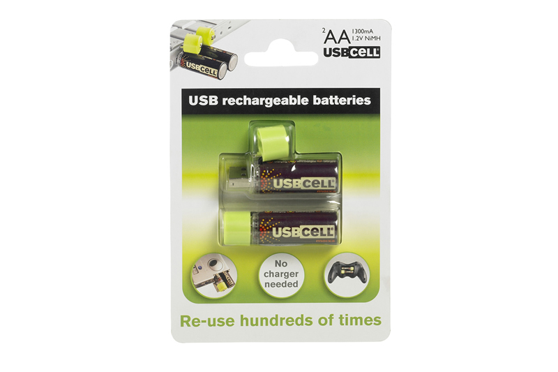 Rechargeable AA-size Batteries