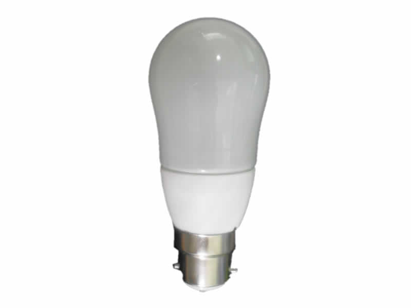 3W LED Pear Shaped Bayonet Bulb