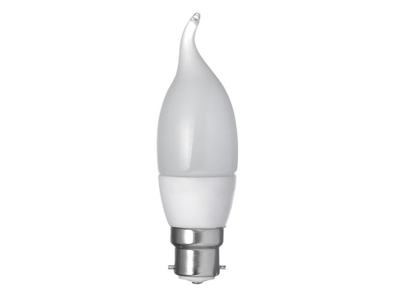 3W LED Flame Shaped Bayonet Bulb