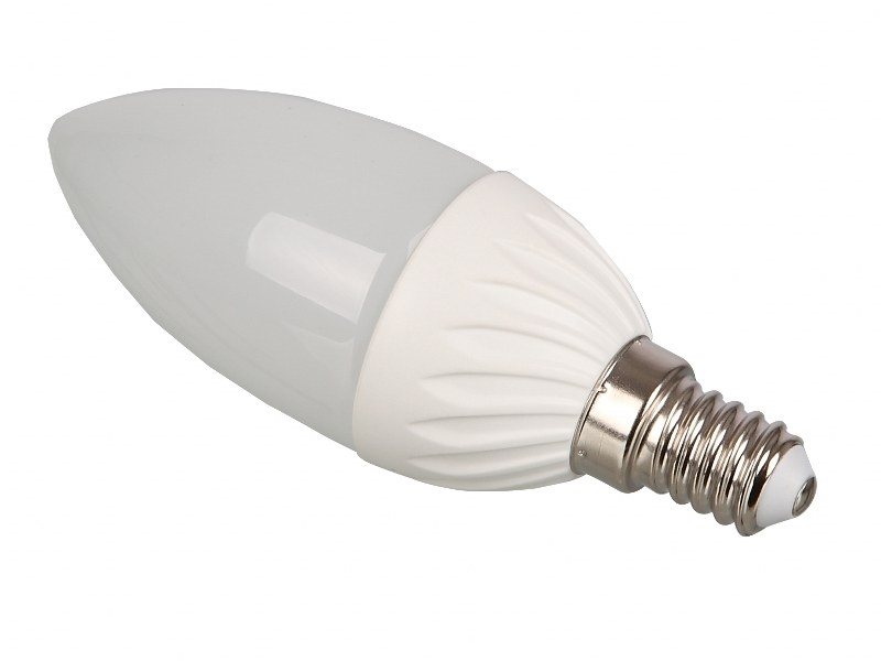 3W LED Candle Shaped E14 Edison Screw Bulb - ENER209-E14-C | Energy ...