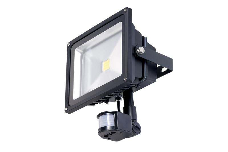 30W LED Floodlight with PIR sensor