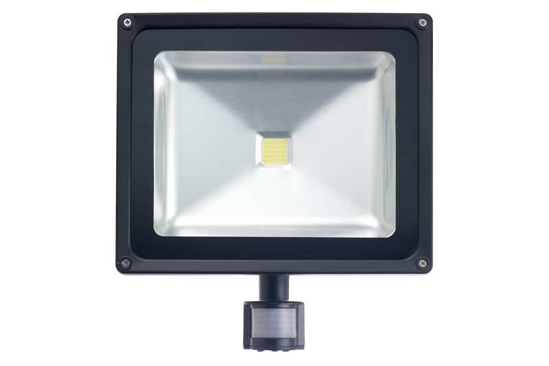 50W LED Floodlight with PIR sensor