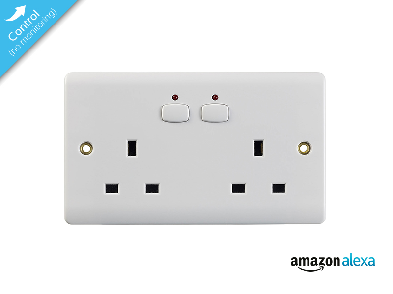 Smart Double Socket (White)
