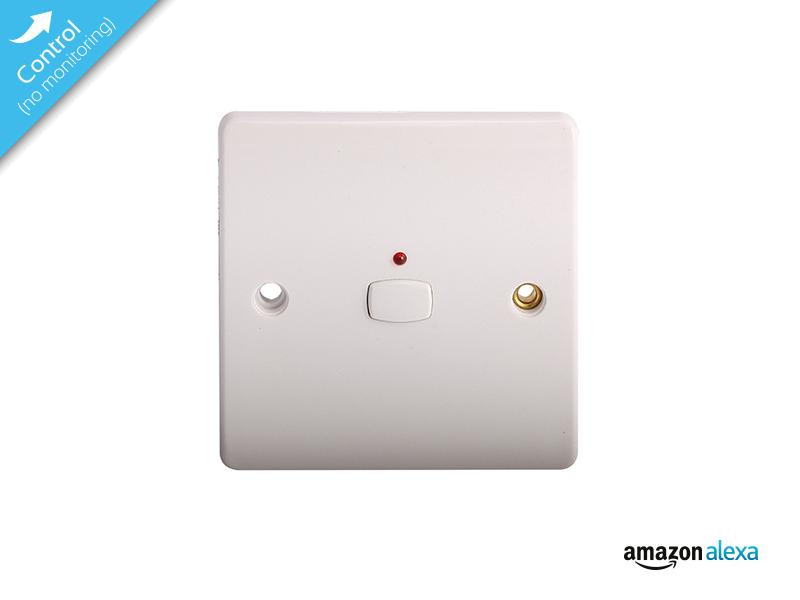 smart single light switch white miho008 energy. Black Bedroom Furniture Sets. Home Design Ideas