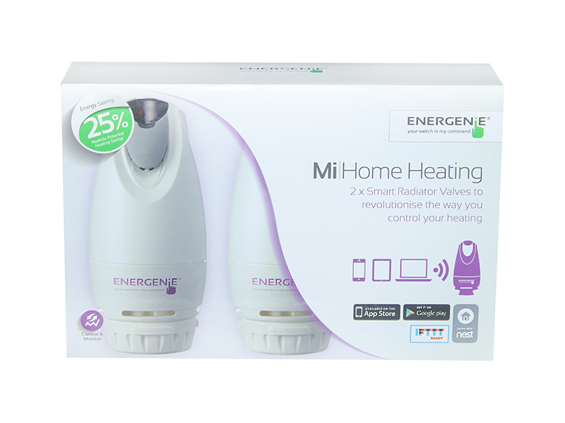 Mi|Home Smart Radiator Valve 2 Pack