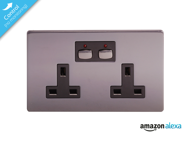 Mi|Home Smart Double Socket (Nickel)