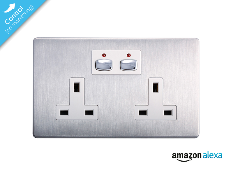 Mi|Home Smart Double Socket (Steel)