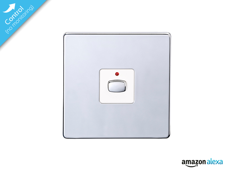 Mi|Home Smart Single Light Switch (Chrome) - MIHO025 | Energy Saving ...