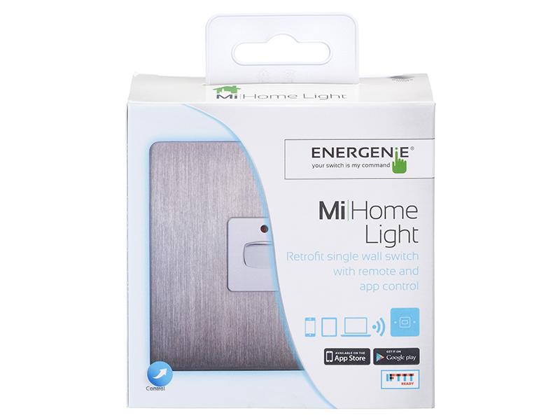 Mi|Home Smart Single Light Switch (Chrome)