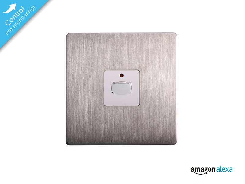 MiHome Dimmer Brushed Steel