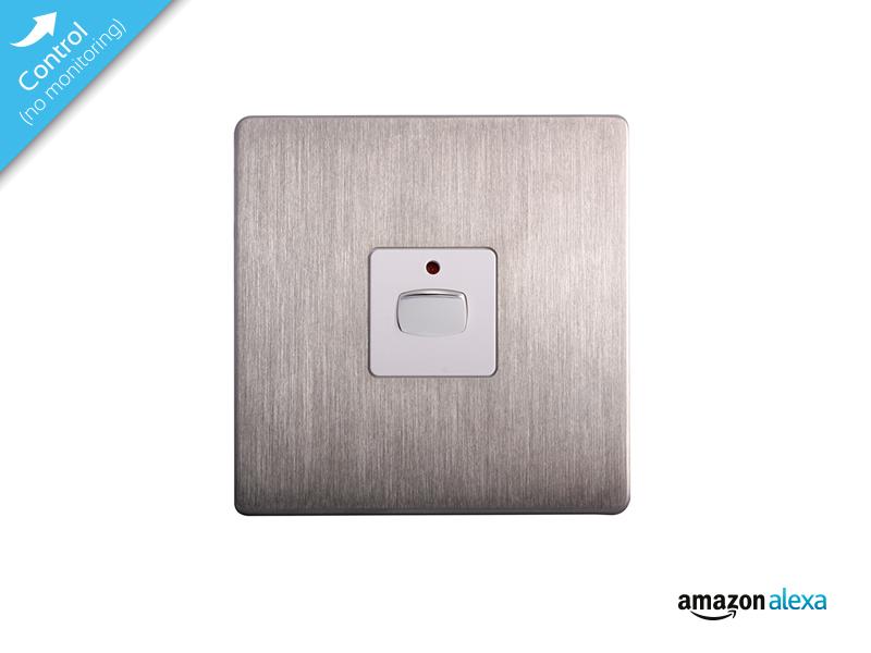 mi home smart single light switch steel miho026. Black Bedroom Furniture Sets. Home Design Ideas