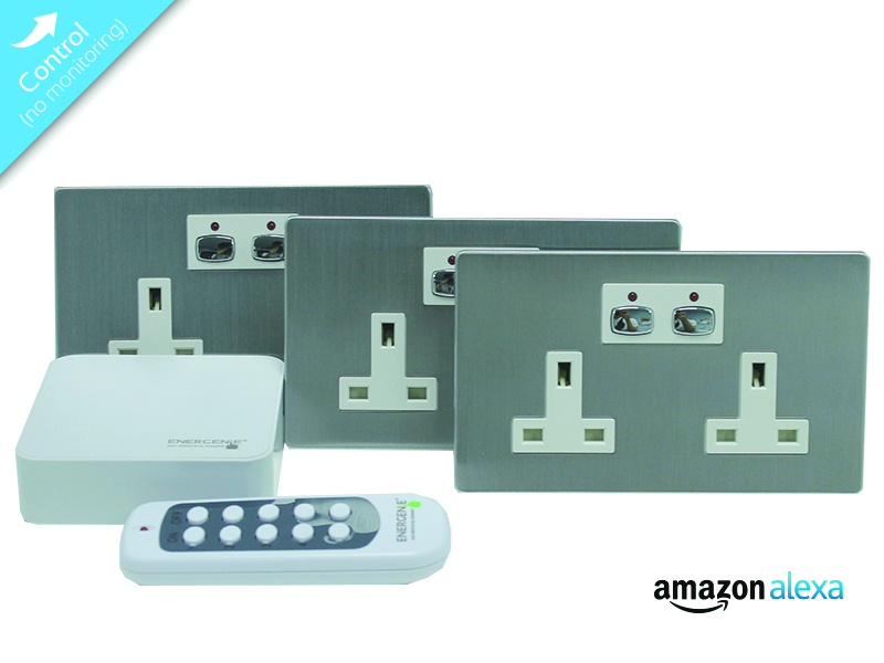 Mi|Home Smart Socket Bundle (Steel)
