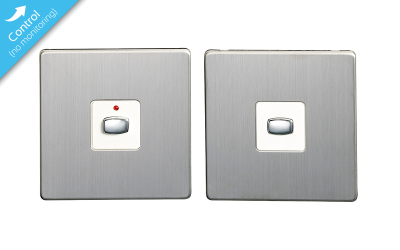 Mi|Home Master   Slave Light Switch ( Brushed Steel)