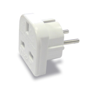 UK to European Travel Adapter