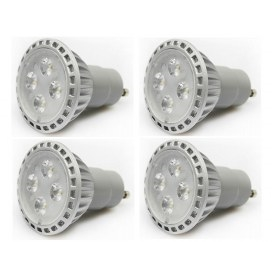 Pack of 4  5W GU10 LED Spotlight  (50W halogen equivalent)
