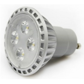 Dimmable GU10 LED spotlight, equivalent to a 50W bulb