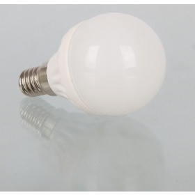 3W LED Globe Shaped E14 Edison Screw Bulb
