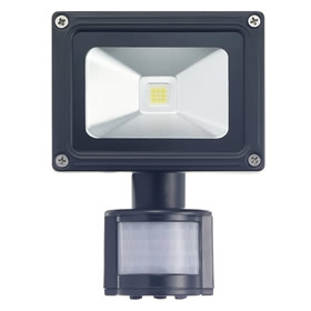 10W LED Floodlight with PIR sensor