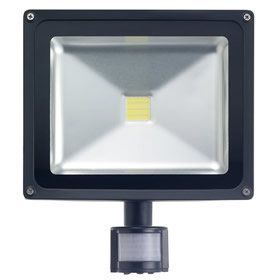30W LED Floodlight with PIR sensor