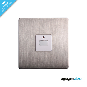 Mi|Home Smart Single Light Switch (Steel)