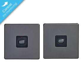 Mi|Home Master   Slave Light Switch (Black Nickel)