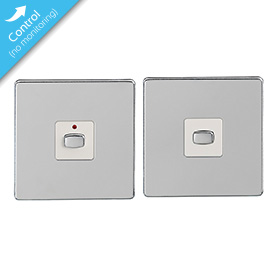 Mi|Home Master   Slave Light Switch (Polished Chrome)