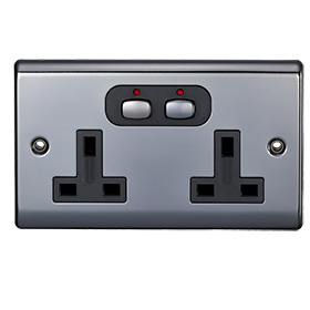 Smart 6mm Double Socket Nickel