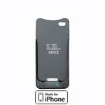 1800mAh ChargeSleeve for iPhone 4